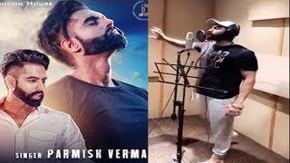 LE CHAKK MAIN AA GYA Behind The Scenes | Recording Song Parmise Verma in Studio |  Live telecast |