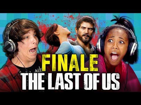 THE LAST OF US FINALE Teens React Gaming