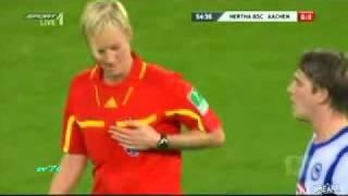مشکل داوران زن در فوتبال مردان - آلمان
