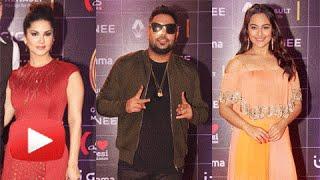Sunny Leone, Zarine Khan,Sonakshi Sinha, Badshah At GIMA Awards 2016