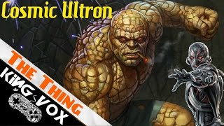 Thing vs Cosmic Ultron - SPIN MOVE!