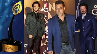 Salman Khan,Arjun Kapoor & Anil Kapoor at Golden Petal Awards 2016