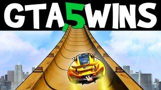 GTA 5 WINS – EP. 17 (GTA 5 Stunts, GTA 5 Funny Moments online Epic Grand Theft Auto V Gameplay)