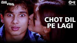 Chot Dil Pe Lagi - Ishq Vishk | Shahid Kapoor & Shehnaz Treasury | Alisha Chinai & Kumar Sanu