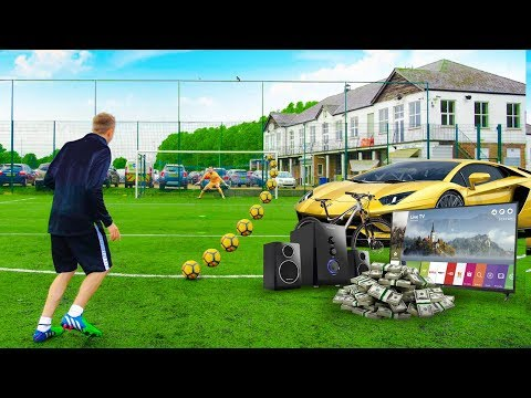 SCORE A GOAL I LL BUY YOU ANYTHING CHALLENGE