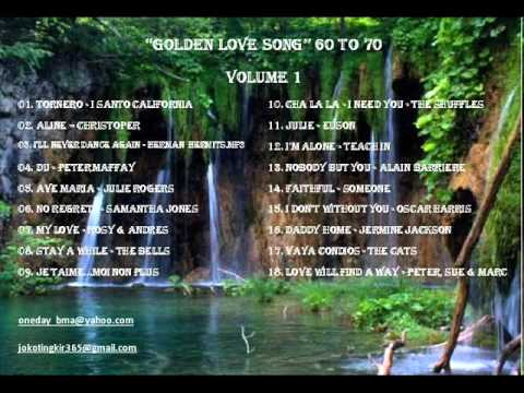 GOLDEN LOVE SONG 60 to 70 VOLUME 1