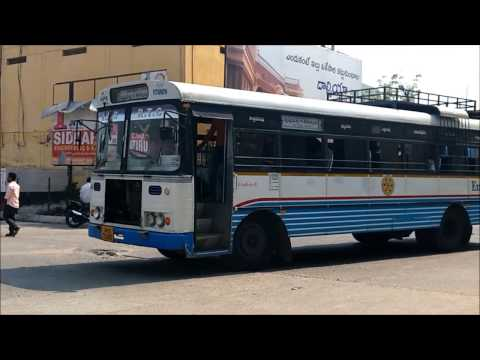 Xxx Mp4 APSRTC Buses Entering Ananthapur Bus Stand 3gp Sex