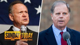Roy Moore, Doug Jones Making Last Pitches Before Special Senate Election | Sunday TODAY