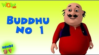 Buddhu No 1- Motu Patlu in Hindi - 3D Animation Cartoon -As on Nickelodeon