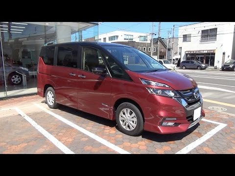 2016 New NISSAN SERENA Highway STAR ProPILOT Edition 4WD Exterior & Interior