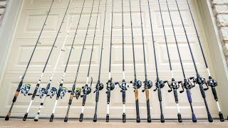 So Many Fishing Rods & Reels😳 (2019 Fishing Gear Review)