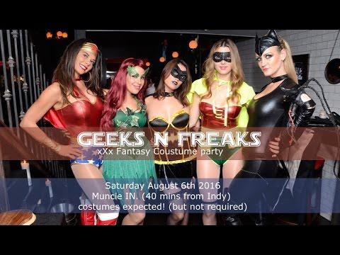 Geeks N Freaks xXx Fantasy Costume party 2016