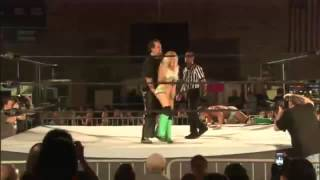 Tommy Dreamer Vaginal Claw on  Candice LeRae