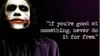 15 Ultimate Joker Quotes From Batman Dark Knight- The Best Villain Ever