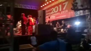 Pesta Kembang Api Detik-detik Pergantian Tahun 2016 - 2017 Pantai Prigi Trenggalek