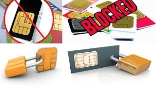 How To Block SIM Cards of your Enemy