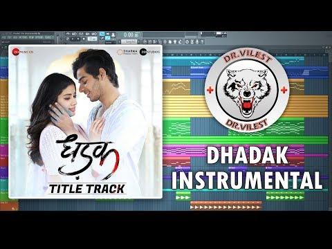 Dhadak - Title Track (Instrumental) | Dhadak | Ajay-Atul | Dr.Vilest