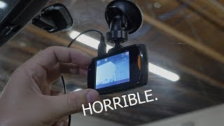 How BAD is the $9 Dash Cam from Walmart?   Rob Dahm