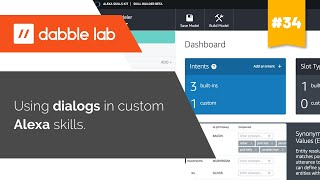 Using dialogs in custom Alexa skills