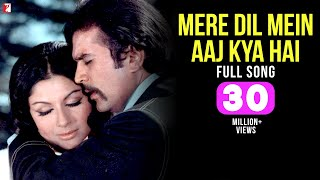 Mere Dil Mein Aaj Kya Hai - Full Song HD | Daag | Rajesh Khanna | Sharmila Tagore