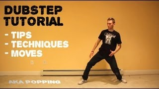 How To Dance to DUBSTEP Tutorial | Robotic POPPING Lesson