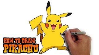 How to Draw Pikachu | Pokemon
