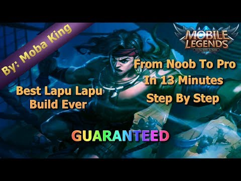 Mobile Legends Best Lapu Lapu Build Of All Time / Unbeatable Guide