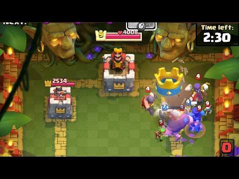 Clash Royale Took His Tower Down So Quick But Then..........