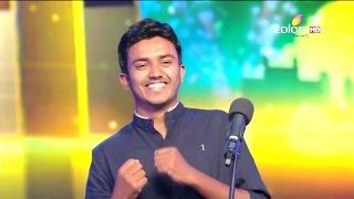 Standing Ovation at India's got talent  ( Light Artist Vivek Patil )
