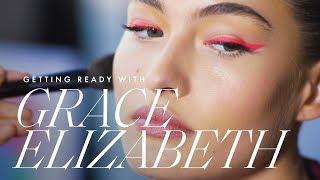 Victoria's Secret Model Grace Elizabeth Gets Ready for the 2019 CFDA Awards | ELLE