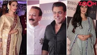 Salman, Iulia, Katrina, Anil & Other B-Town Stars Grace Baba Siddique
