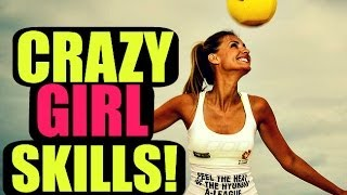 Girls With Neymar/Ronaldo/Ronaldinho Football & Freestyle Skills ★