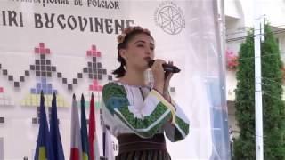 GABRIELA AANITEI - Intalniri Bucovinene, 2017