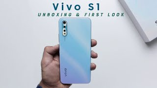 Vivo S1: Unboxing   Hands-on   Price Rs 17,990 [Hindi-हिन्दी]