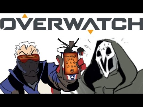(ComicDub) Overwatch - How to Silence Reaper