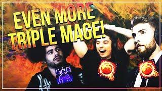MORE TRIPLE MAGE ARENA! Full games ft. Venruki & Ziqo