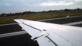 NovoAir Take Off from CGP Airport