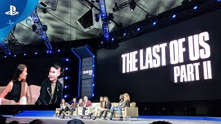 The Last of Us Part II - PSX 2017 Panel | PS4
