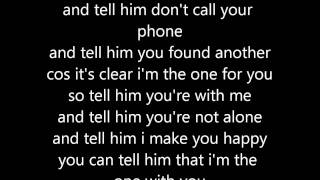 Taj Jackson - i'm the one for you (lyrics)