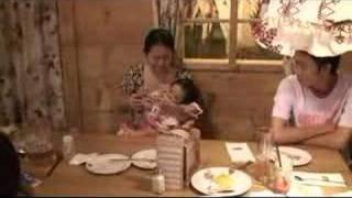 Clarissa's 1st Birthday - 15 - Aunt KP feeds milk