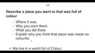 IELTS Cue card A place you visited which was full of colour