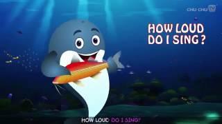 Blue Whale Song   ChuChuTV Sea World   Animal Songs For Children 360p
