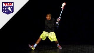 Kyle Harrison Lacrosse Shooting Mechanics in Slow Motion