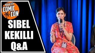 Sibel Kekilli Q&A at Magic City Comic Con 2015