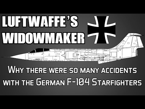Why Germany had so many accidents with the F 104 Starfighter