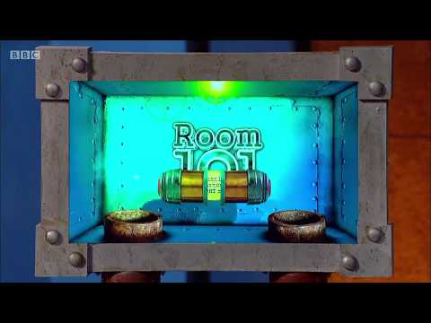 Room 101, Series 7, Episode 1. Charlie Brooker, Scarlett Moffatt, Pearl Mackie. BBC1. 12 Jan 2018