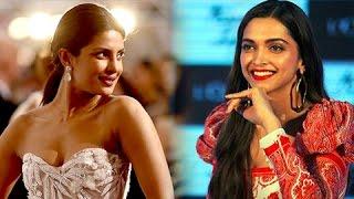 Priyanka Chopra SMART REACTION On Deepika Padukone's RACIST Comment