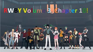 Let's Watch! | RWBY Volume 3, Chapter 10: Battle of Beacon