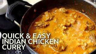 Quick & Easy Chicken Curry