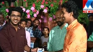 Poomaram singer Faizal gave Manorama News